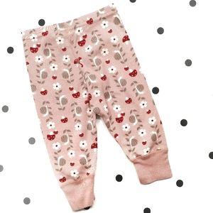 Hanna Andersson 100% Cotton Leggings  6-12 Months